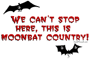 We can't stop here, this is Moonbat country!