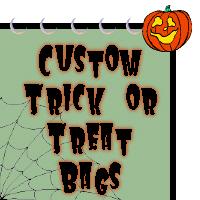 Custom Trick or Treat Bags