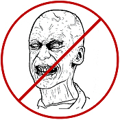 No Zombies T-Shirts