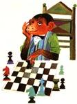 Monkey Playing Chess