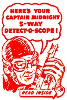 Captain Midnight's Detect-O-Scope