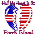 Half my heart is at Parris Island