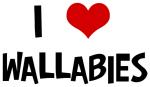 I Love Wallabies