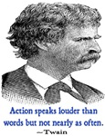 TWAIN ACTION QUOTE