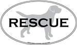 Rescue Dog Silhouette