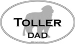 Toller Dog DAD