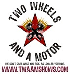 Two Wheels And A Motor