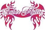 Sober Hottie Tattoo Pink Flames