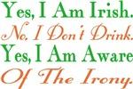 Ironic Sober Irish