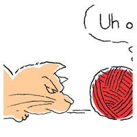 Cat vs. Yarn