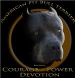 Courage power devotion design