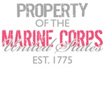 Property of the US Marine Corps (Pink)