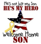 He's not just my Son, He's my hero