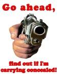 Concealed Gun Dare