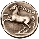 Horse Coin, Roman Stallion. Horse gifts & clothing