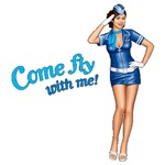 Airline Flight Attendant 60´s