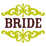 Bride (Chocolate Brown and Lime)