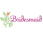 Butterfly Bridesmaid