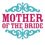 Mother of the Bride (Hot Pink and Tiffany Blue)