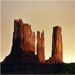 Monument Valley Sunset Three