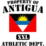 Property of Antigua Athletic Department