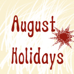 August Strange Holidays