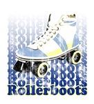 Rollerboots (worn look)
