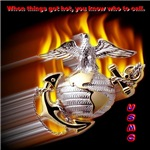 Marines, Army, and Navy