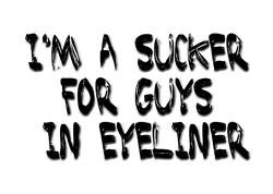 ...guys in eyeliner