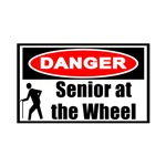 Senior At The Wheel