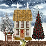 Irish Christmas Cottage