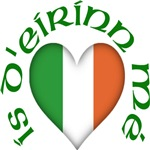 Click Here For 'I Am of Ireland' (Heart) Design