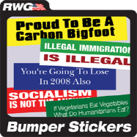 Right Wing Gifts Bumper Stickers