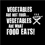 Vegetables Are Not Food