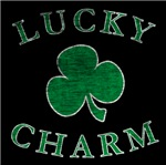 Lucky Charm Vintage Distressed Clover