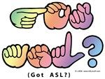 Pastel GOT ASL? Captioned Square