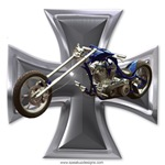 Chopper with Iron Cross