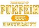 Pumpkin University Halloween T-Shirts