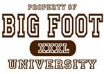 Big Foot University T-Shirts