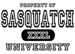 Sasquatch University T-Shirts