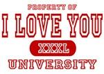 I Love You University T-Shirts