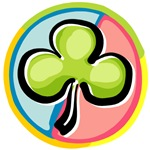 Irish Shamrock funky T-Shirts