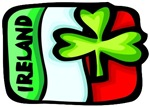 Ireland Flag Shamrock T-Shirts