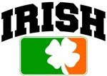 Irish Flag Shamrock T-Shirts
