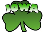 Iowa Shamrock T-Shirts