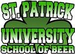 St. Patrick University School of Beer T-Shirt