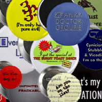 Cool Buttons & Magnets