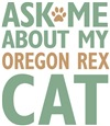 Oregon Rex Cat Lover Gifts