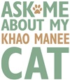 Khao Manee Cat Lover Gifts