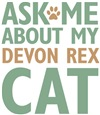 Devon Rex Cat Merchandise